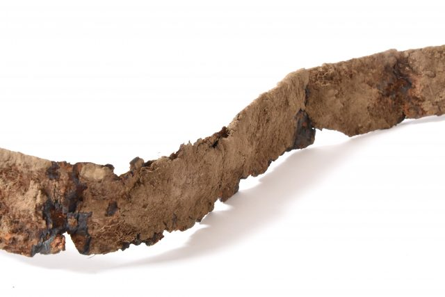 Keltský železný meč z Českých Lhotic | foto: Regionální muzeum ve Vysokém Mýtě  (5820981)