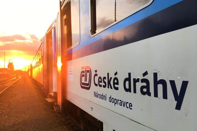 Vlak Českých drah. | foto: Jiří Špaček,  iROZHLAS.cz