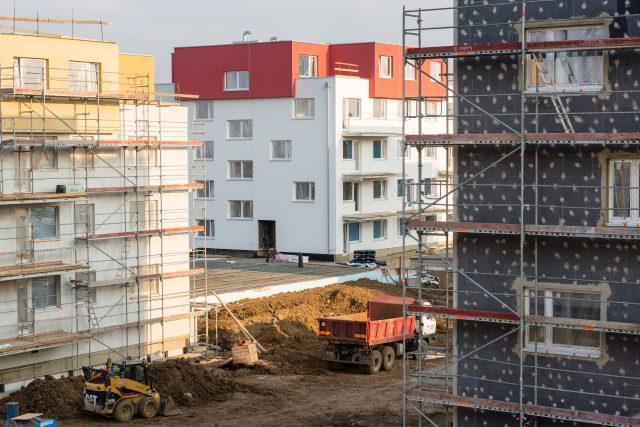 Výstavba nových bytů  (ilustrační foto) | foto: Profimedia